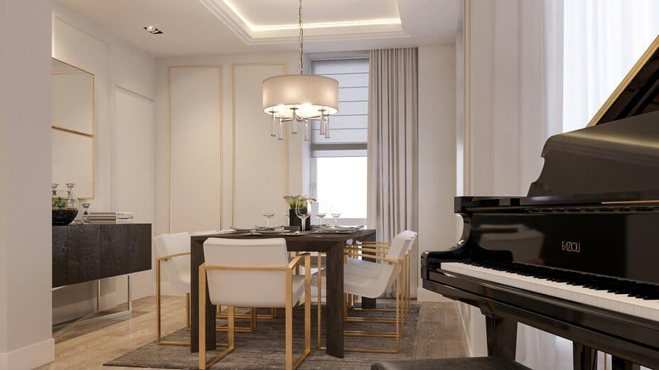 luxury apartment design online living room 5