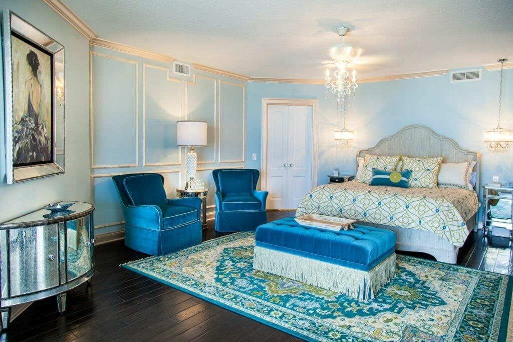 tampa-fl-interior-designers-Traditional-Transitional-Elegant-Master-Bedrooom