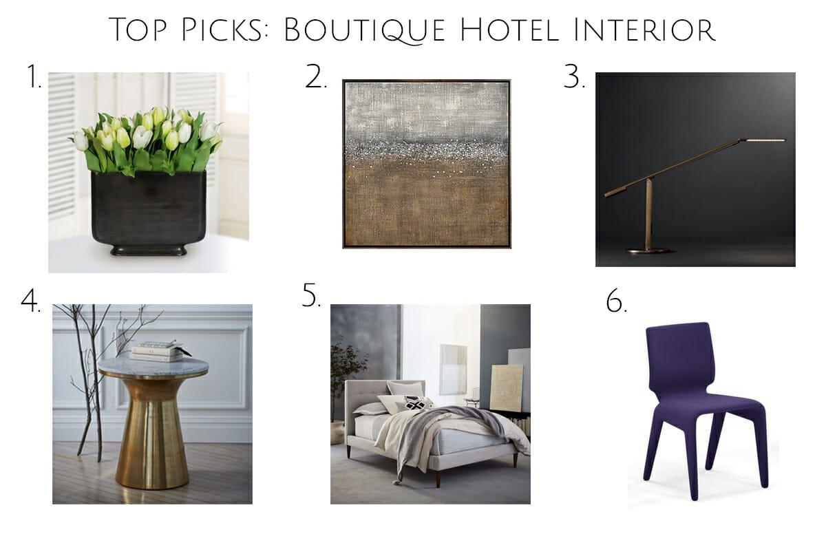top picks boutique hotel design online
