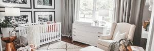 contemporary nursery interior design