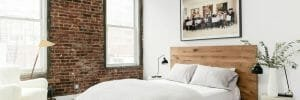 feng shui bedroom with grounded energy