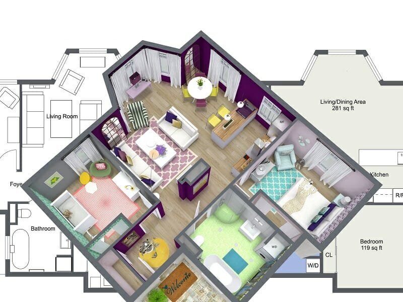 home interior design software online room sketcher