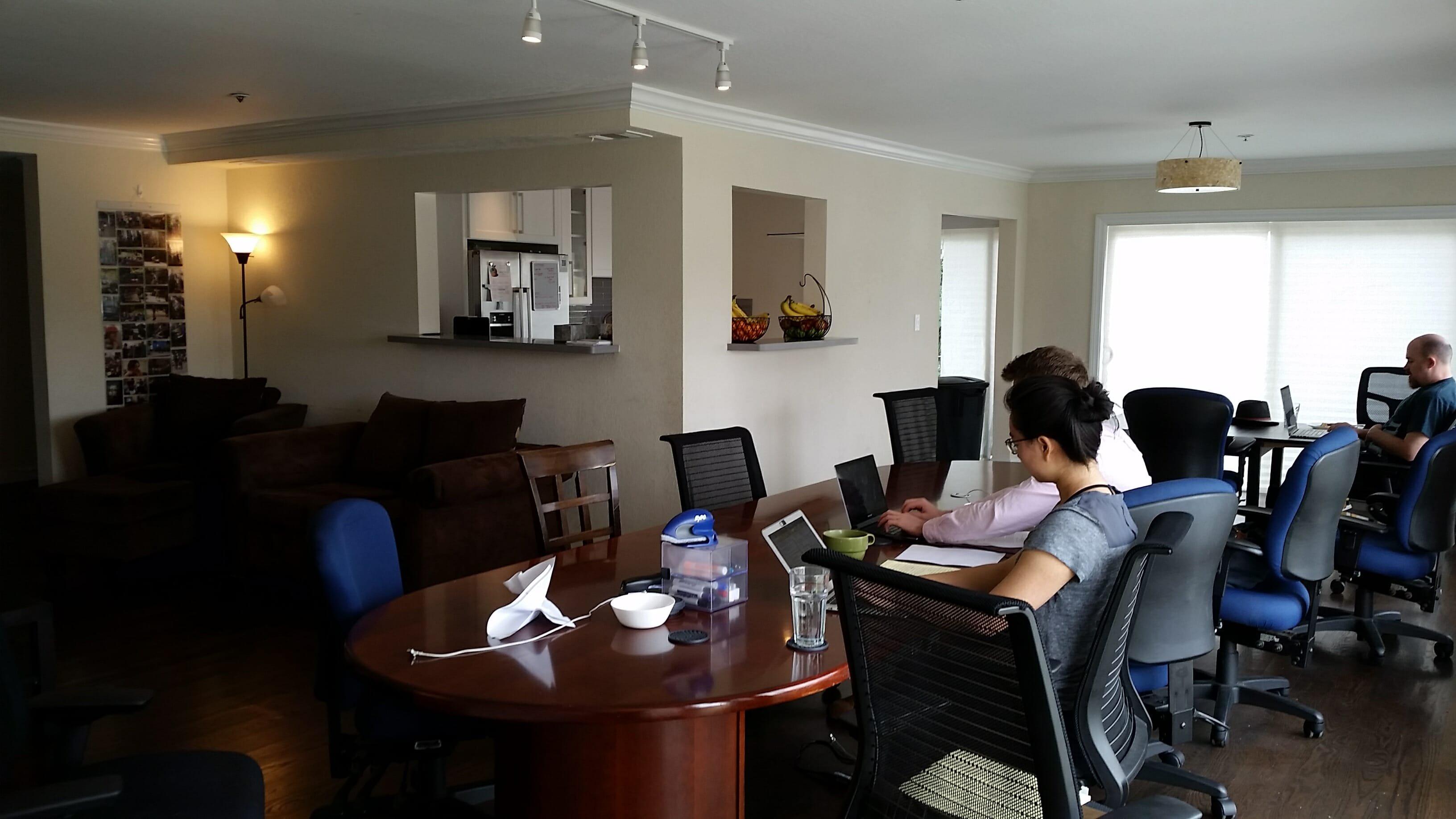 modern office design before