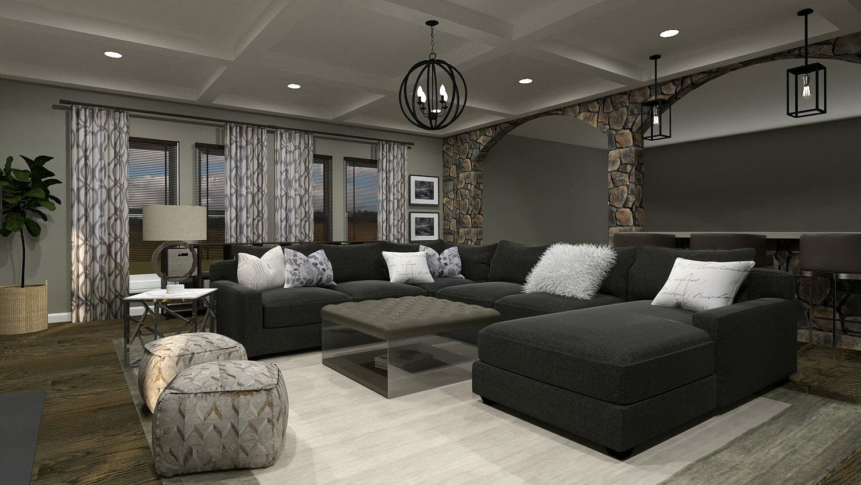 modern rustic interior design taron h