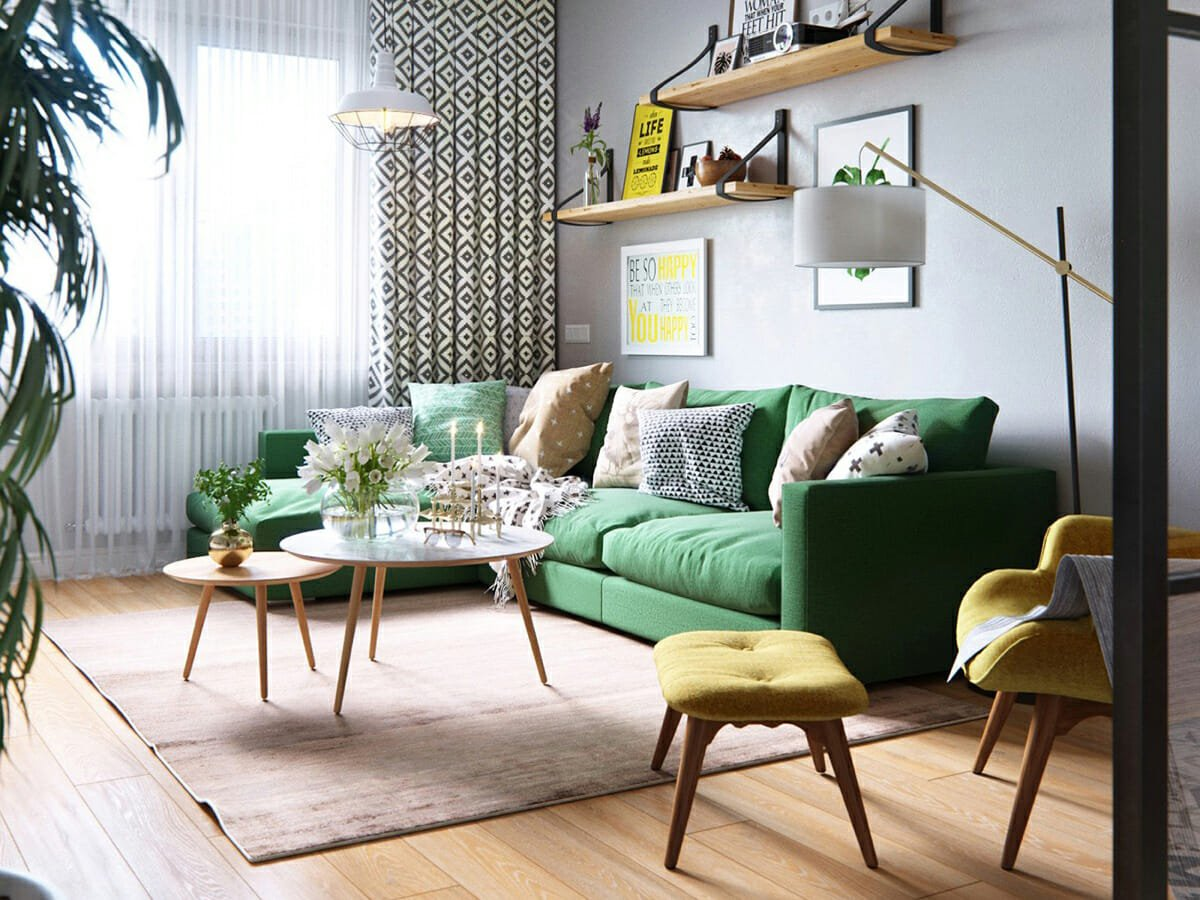 spring 2019 interior design trends scandinavian eclectic