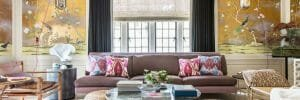 eclectic home interior design feature