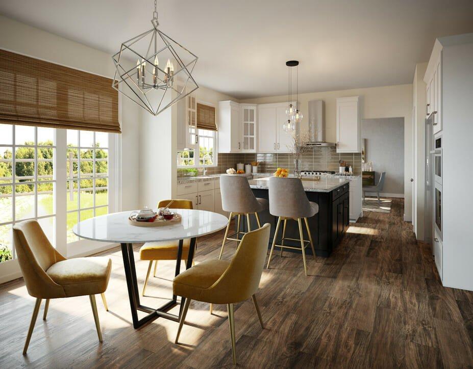 eclectic home interior design kitchen 2