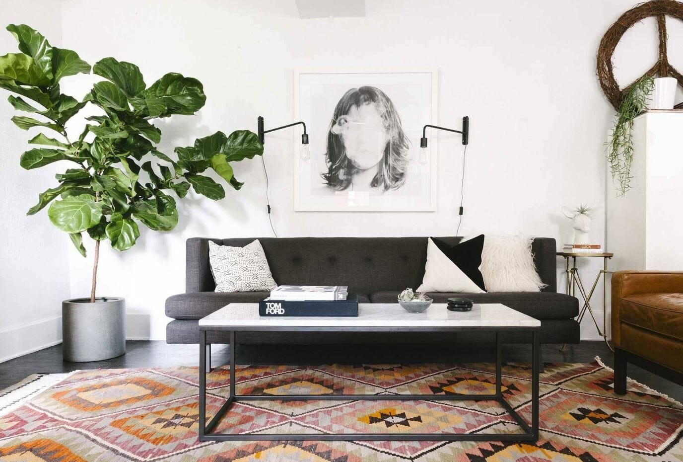 home interior design plants