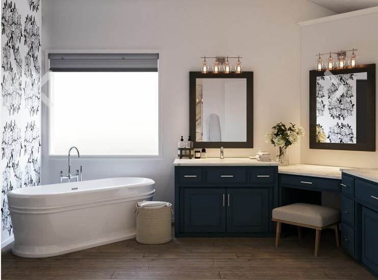 interior designer spotlight srarh m bathroom