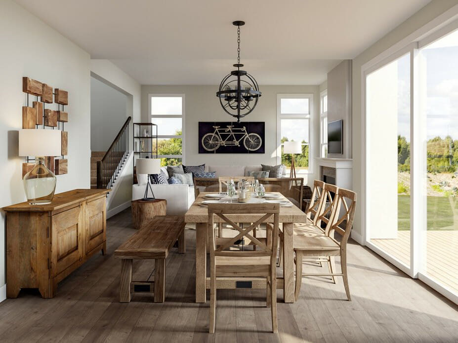 Before & After: Open Concept Modern Home Interior Design ...