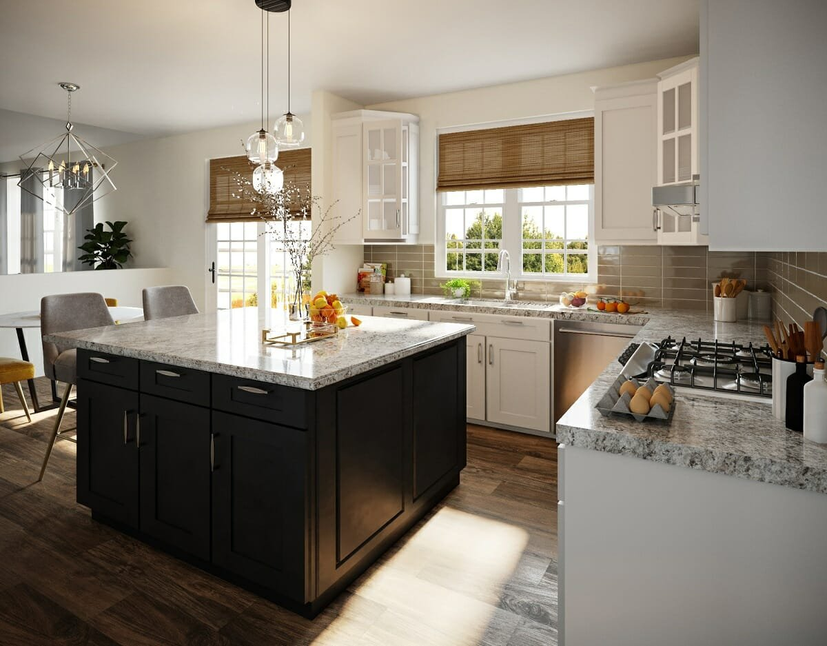 Open-Plan Kitchen Remodel by Sonia