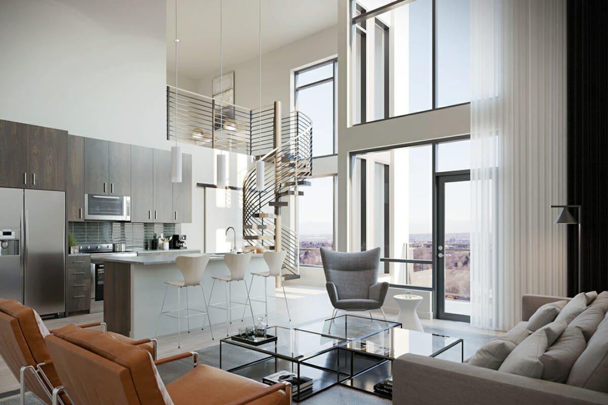 open plan kitchen remodel trends