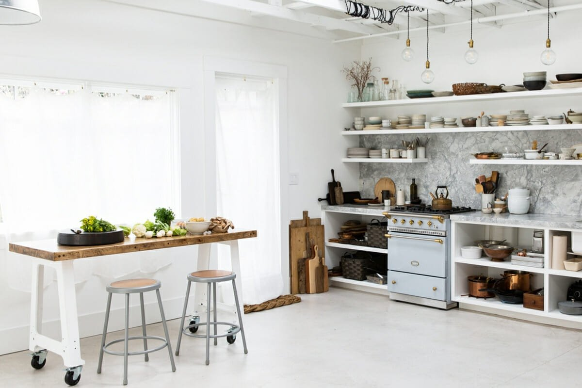 timeless kitchen butcher block trend