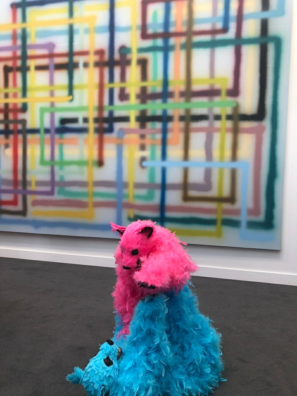 Frieze Art Fair New York Feather Bears