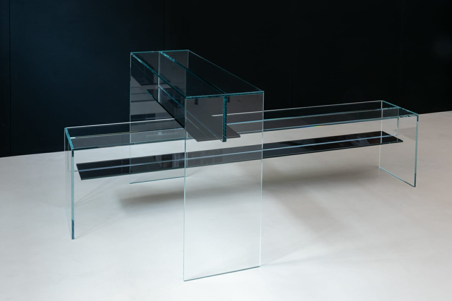 high end glass furniture OONIKO beam collection