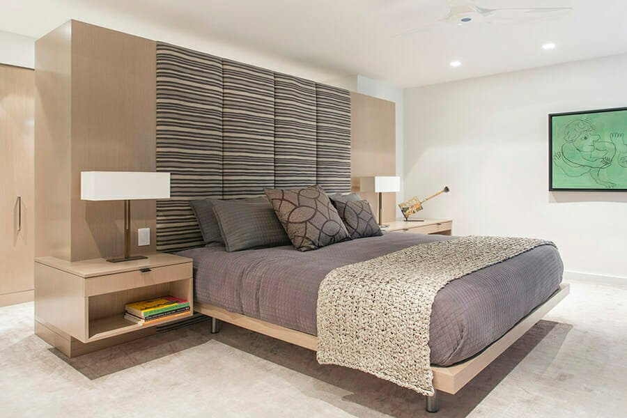 contemporary style bedroom design