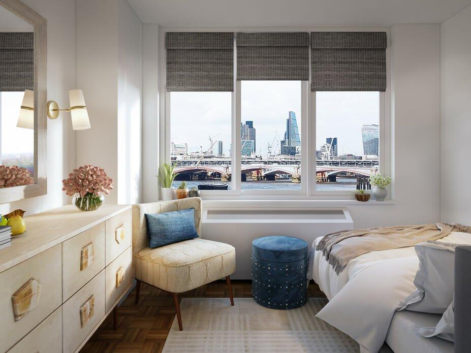 eclectic bedroom interior design decor