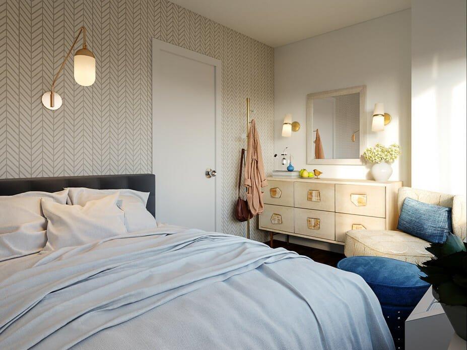 eclectic bedroom interior design ideas