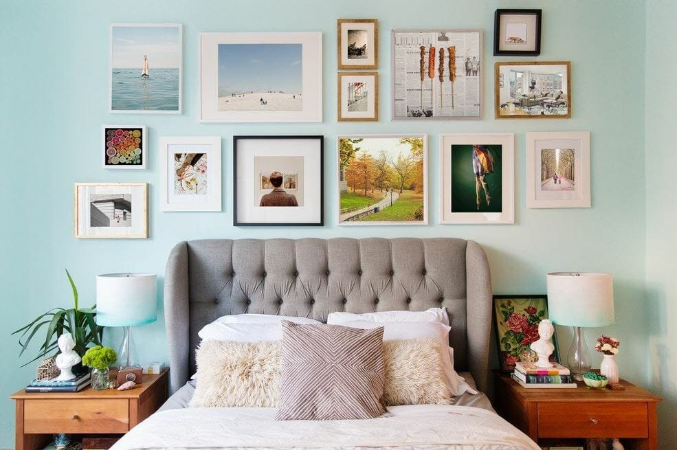 eclectic bedroom interior design