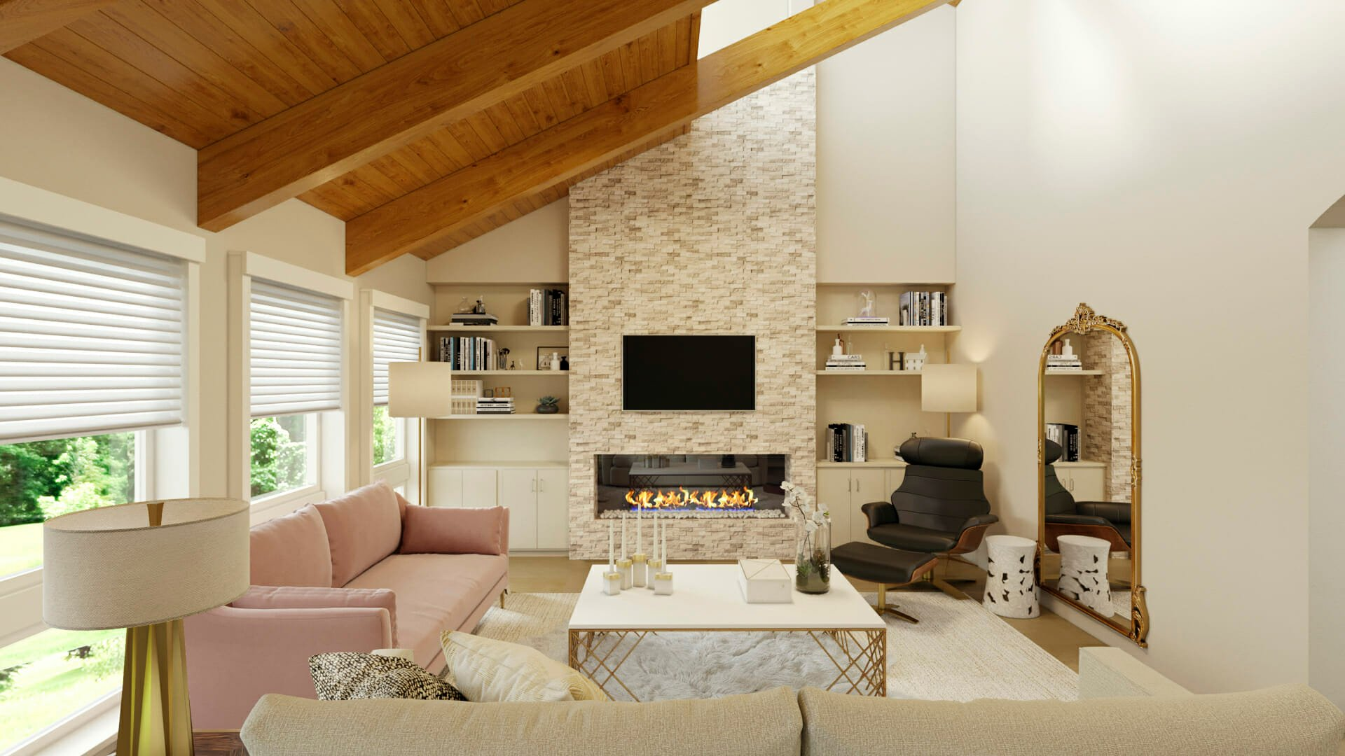 hire an interior designer for my living room - decorilla