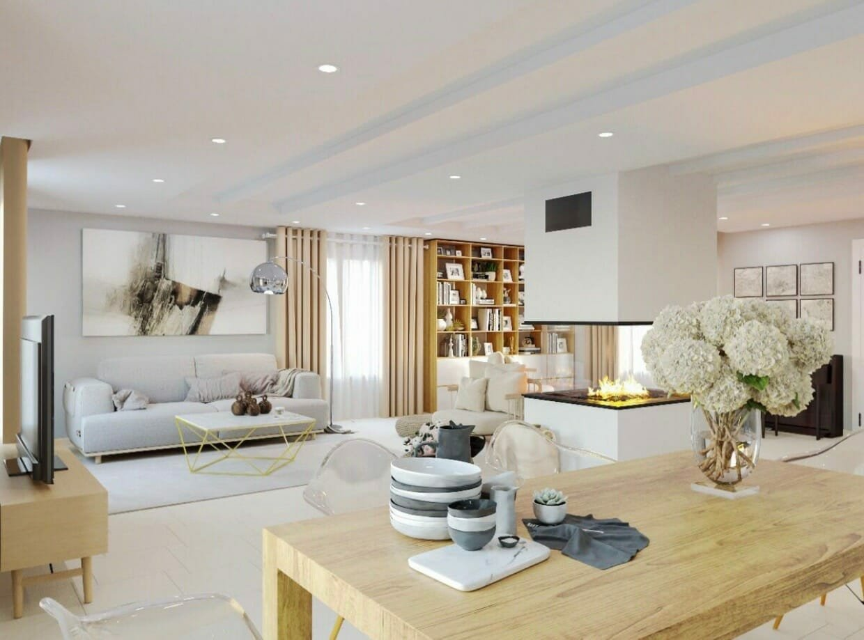 hire an interior designer for my living room online