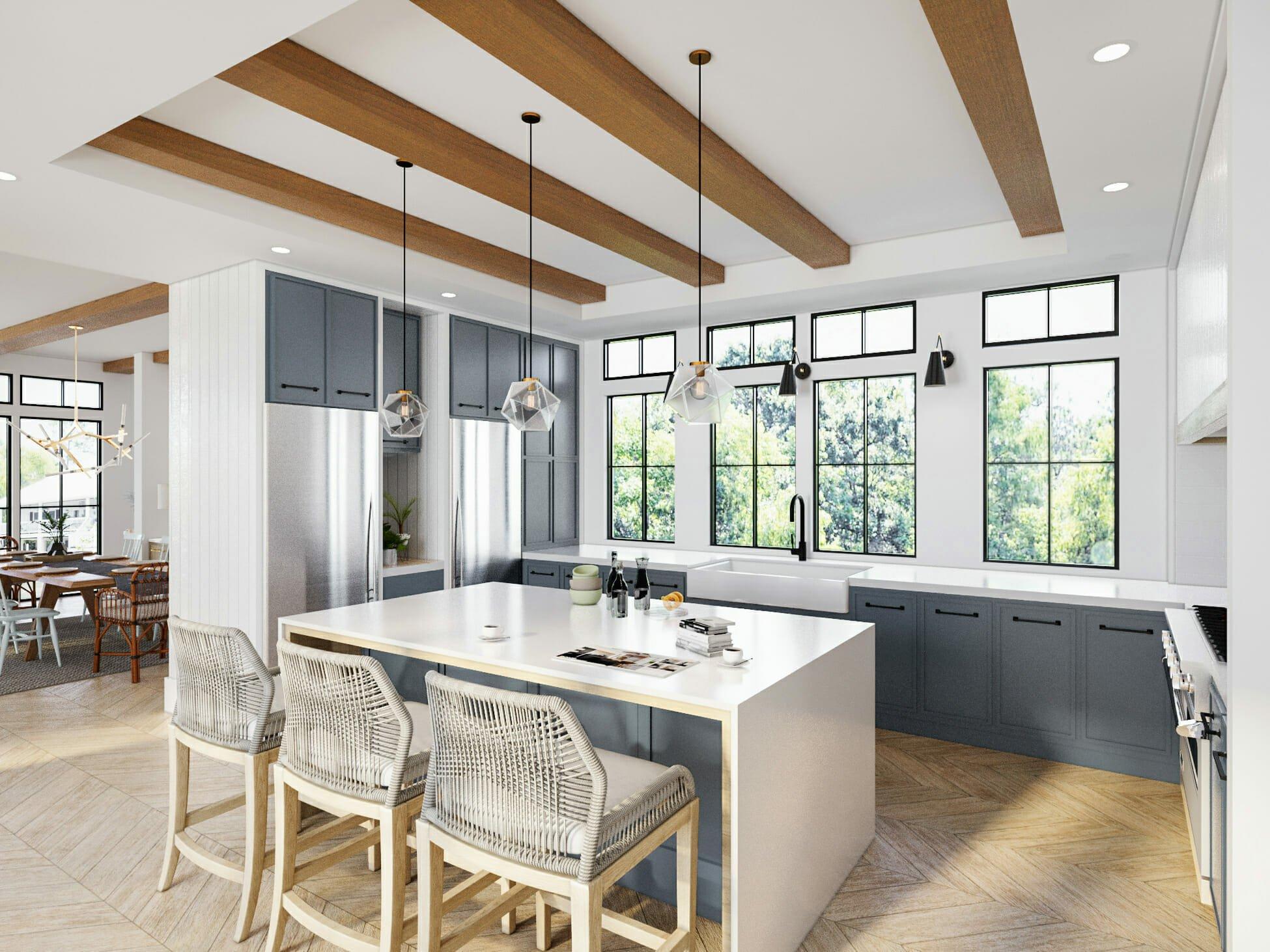 modern kitchen interior design by decorilla designer sonia c