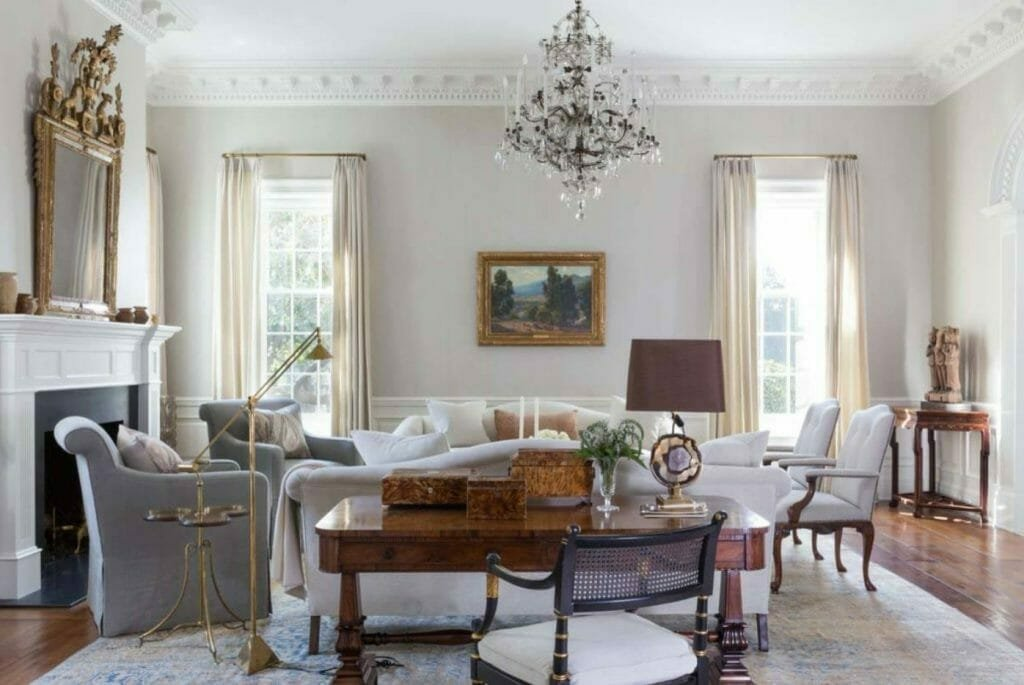 tradtional style living room design
