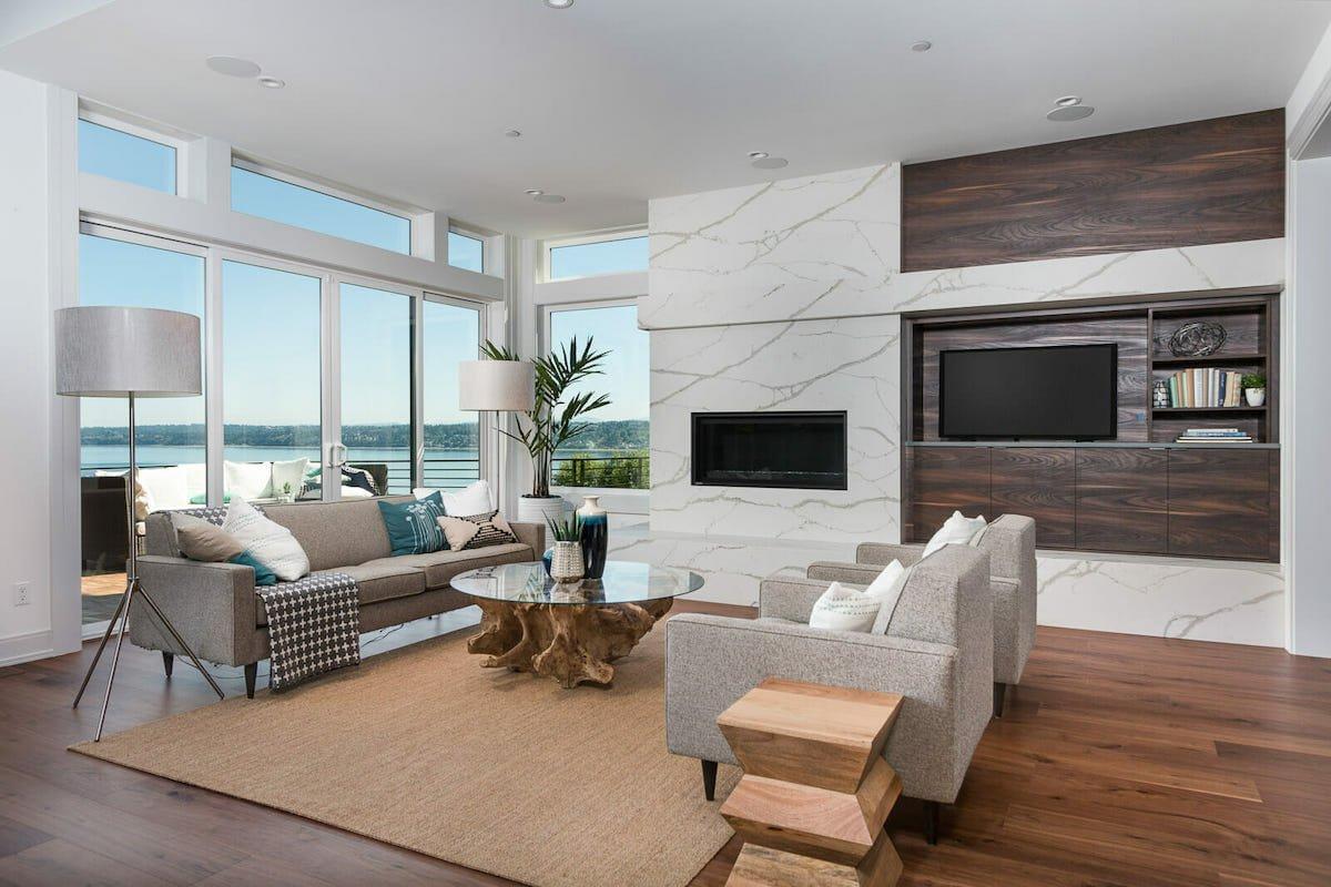 Contemporary Portland interior design, by Decorilla designer, Betsy M.