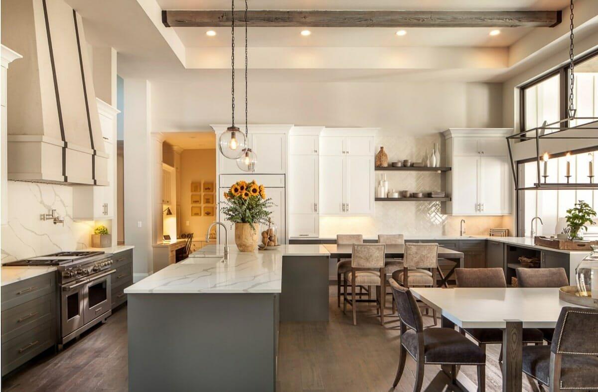Modern farmhouse kitchen portland interior design