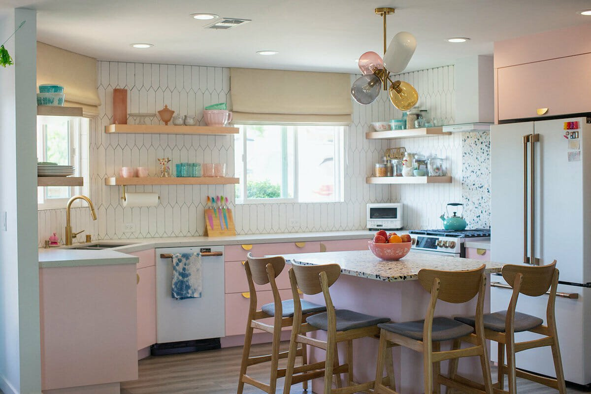 Pastel kitchen by top portland interior designers mackenzie collier