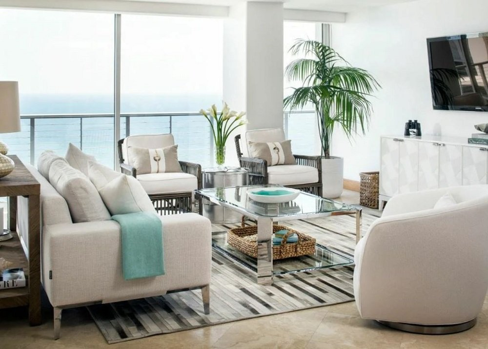 beachy interior design by Corine M
