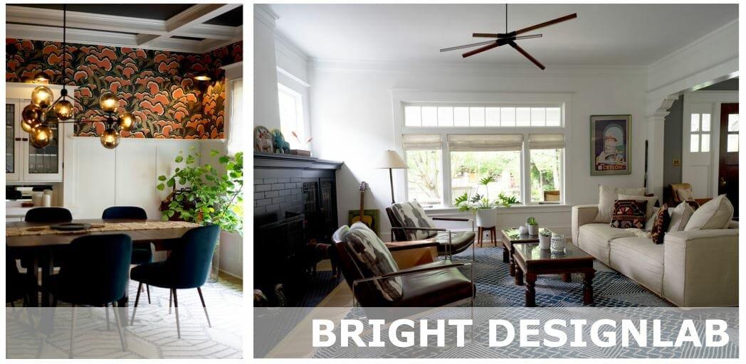 bright design lab portland living room design