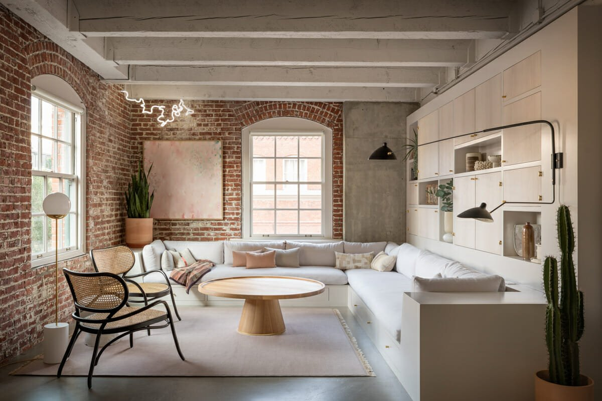 cozy loft interior design portland by jessica helgerson