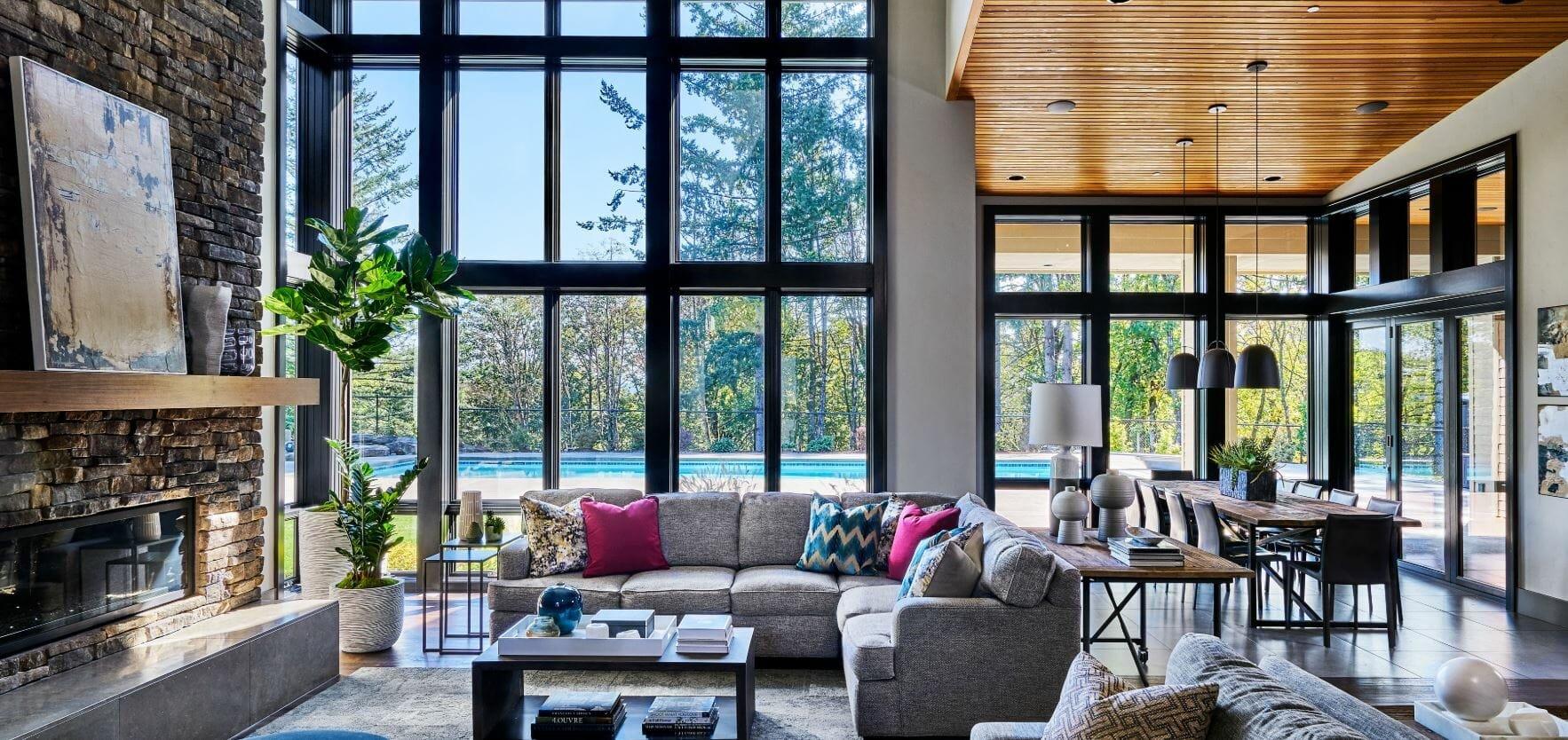 garrison hullinger living room design