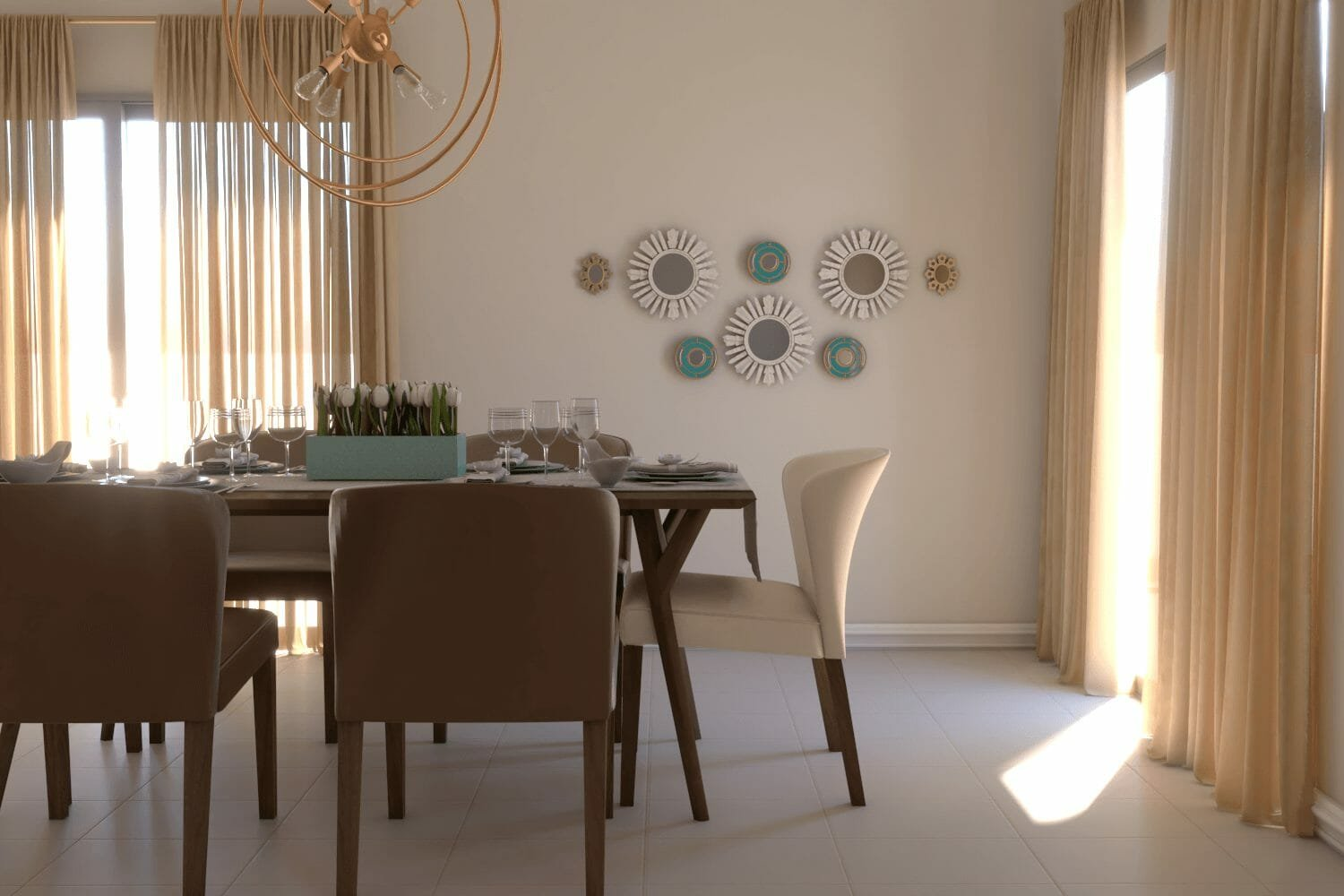 interior designer spotlight contemporary dining room