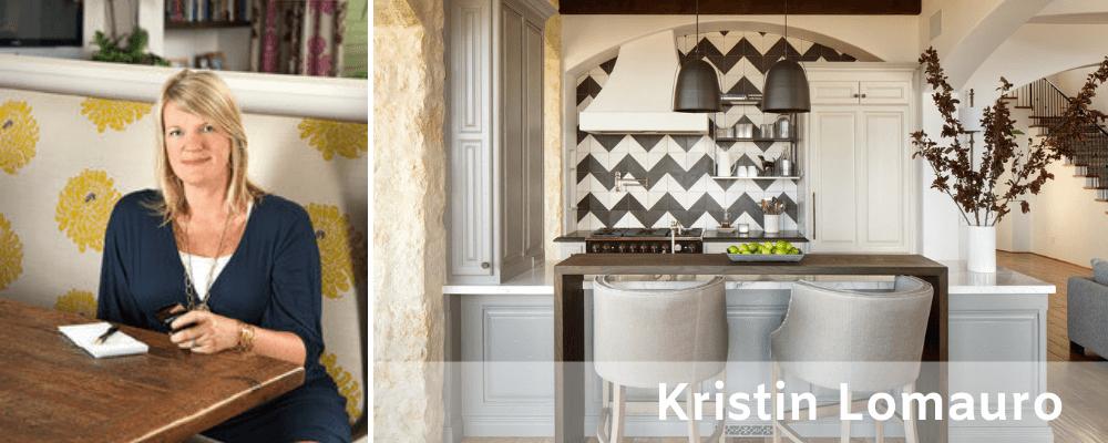 Contemporary kitchen from an interior designer in San Diego