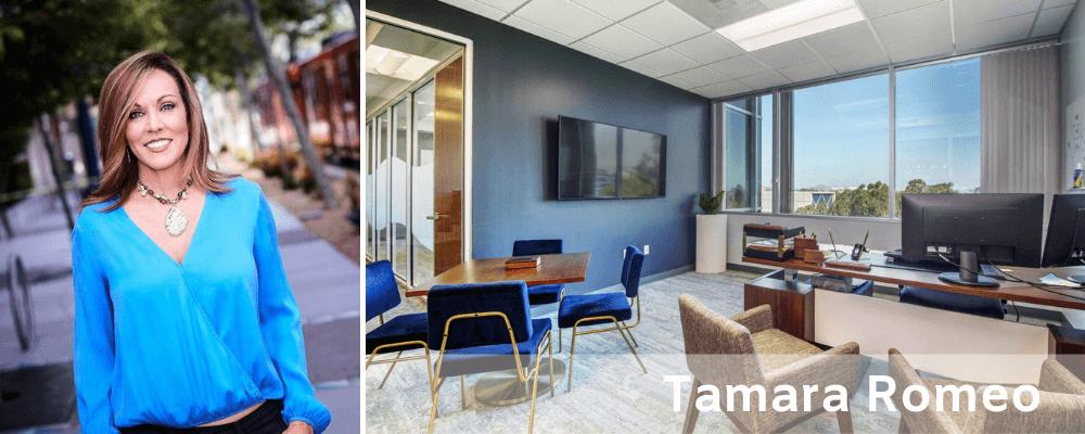 Modern office by San Diego Decorators