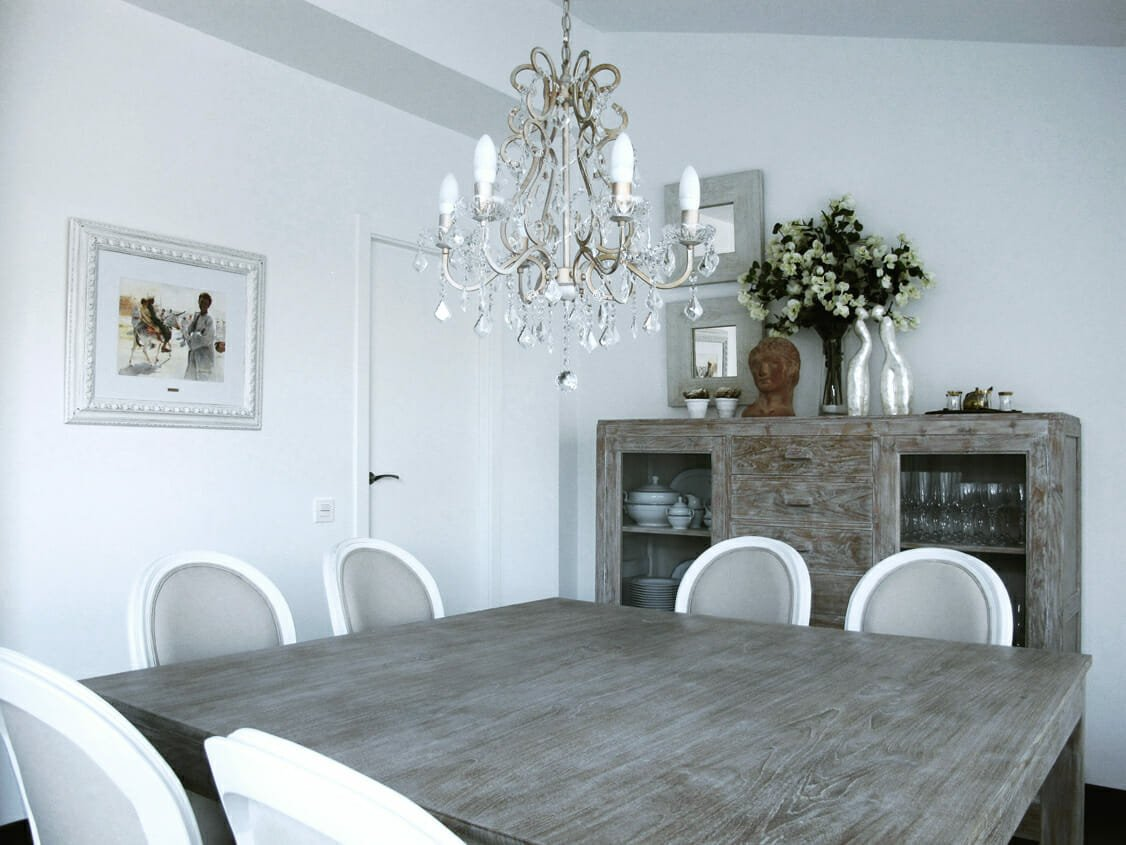 antique furniture dining room - decorilla designer marisa g
