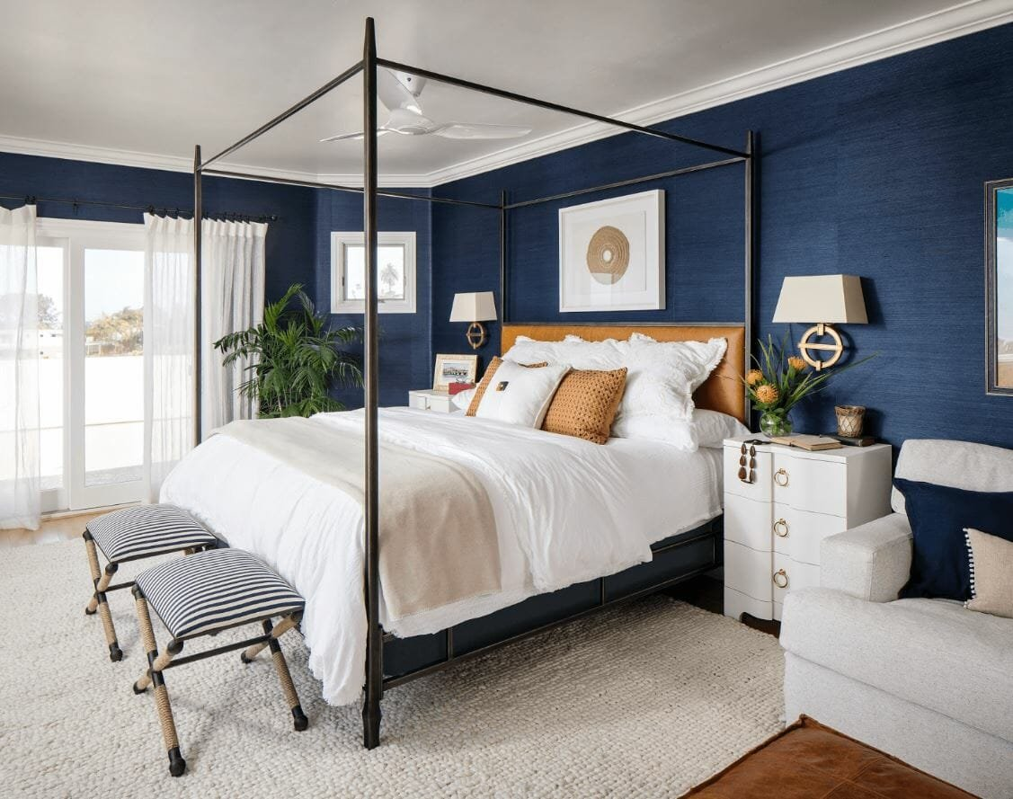benjamin moore paint colors blue bedroom