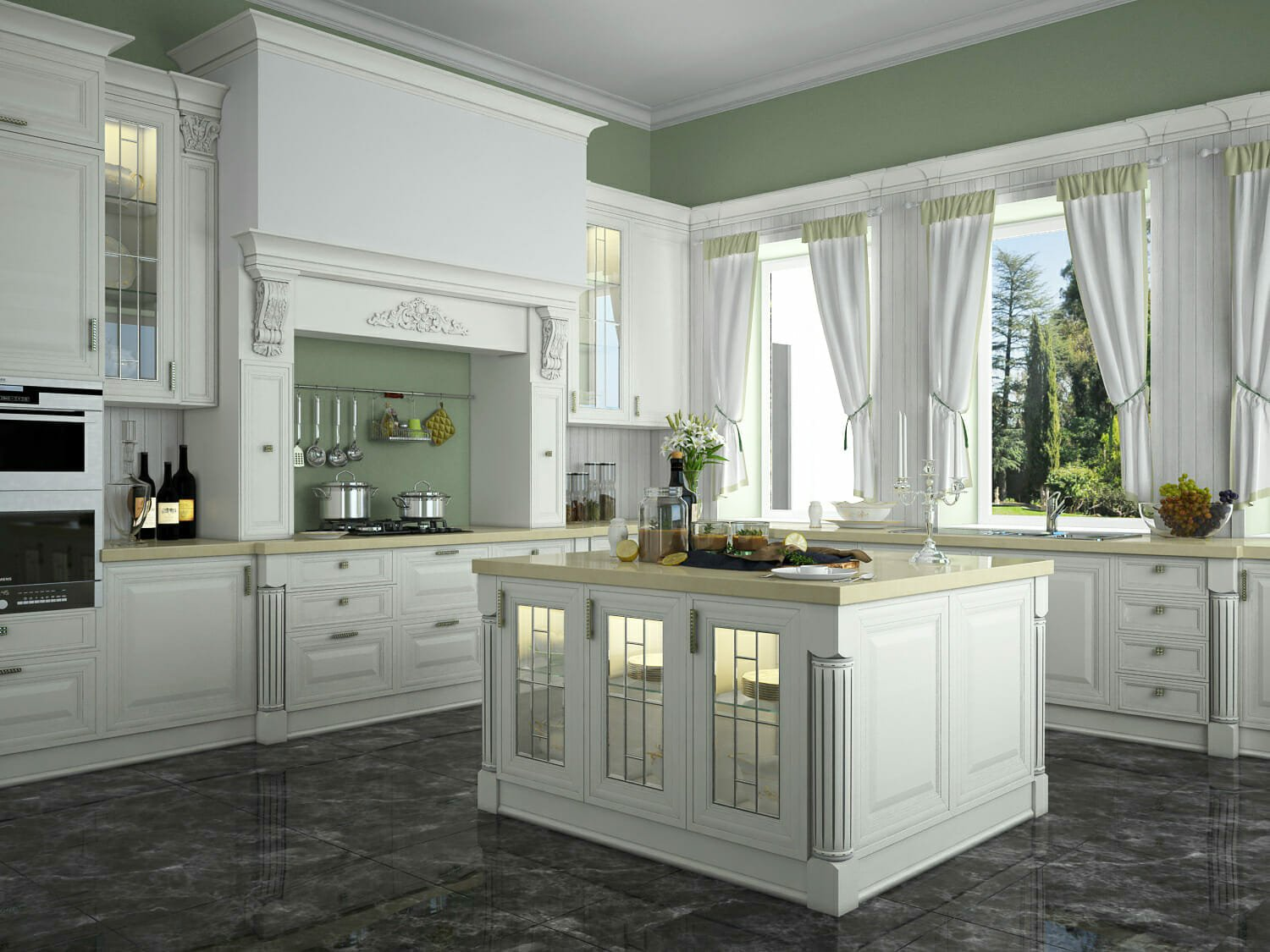 benjamin moore paint colors french kitchen rendering