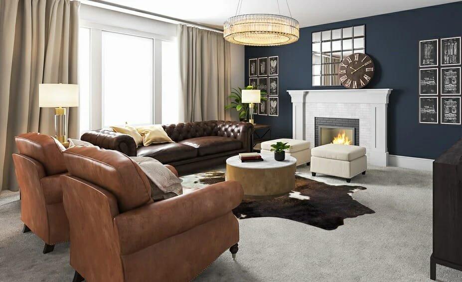 decorilla vs decorist comparison 3d living room 4