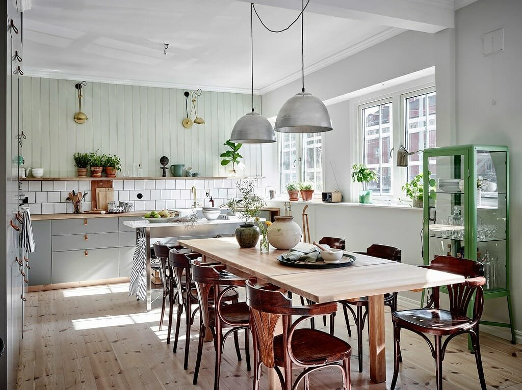 rustic scandinavian interior design