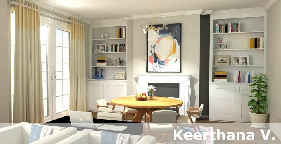 top san diego interior designers Keerthana V.