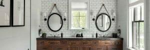 2019 bathroom trends modern farmhouse