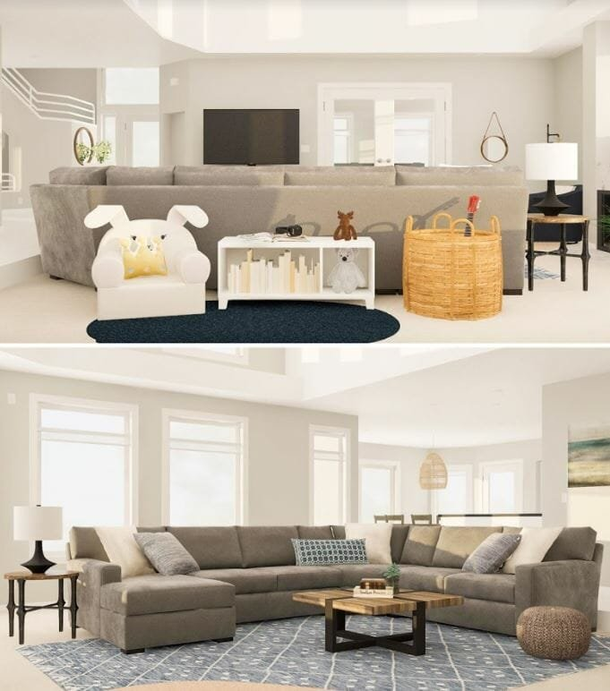 decorilla vs modsy 3d renderings modsy living room
