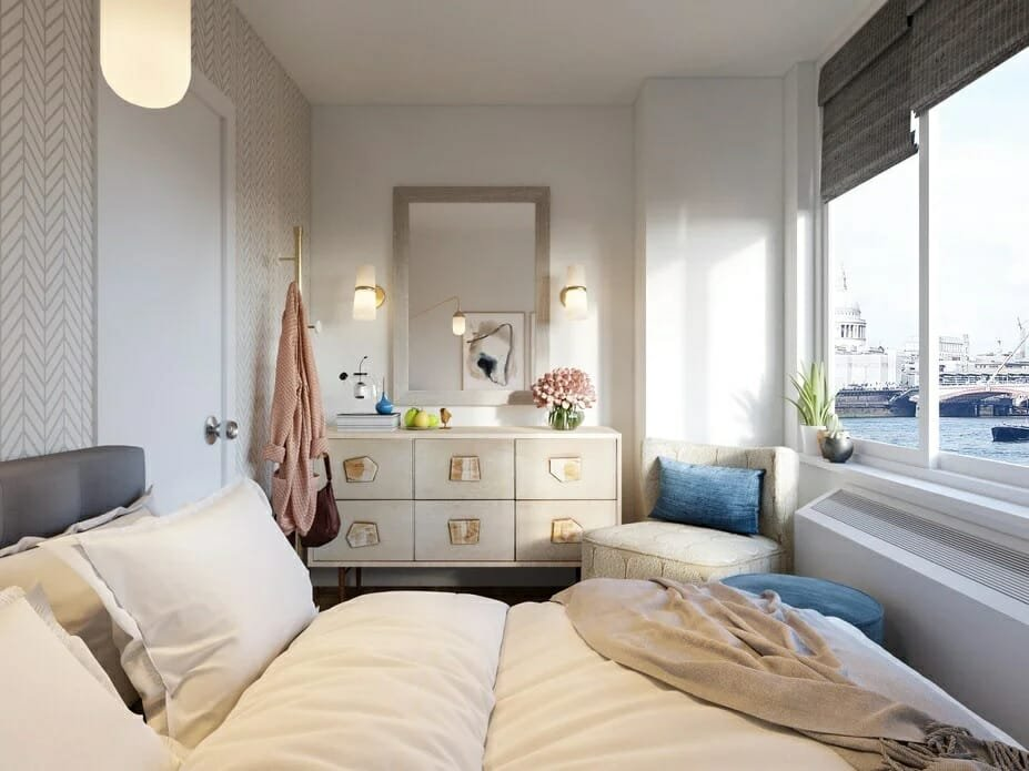 decorilla vs modsy comparison 3d renderings 3 bedroom