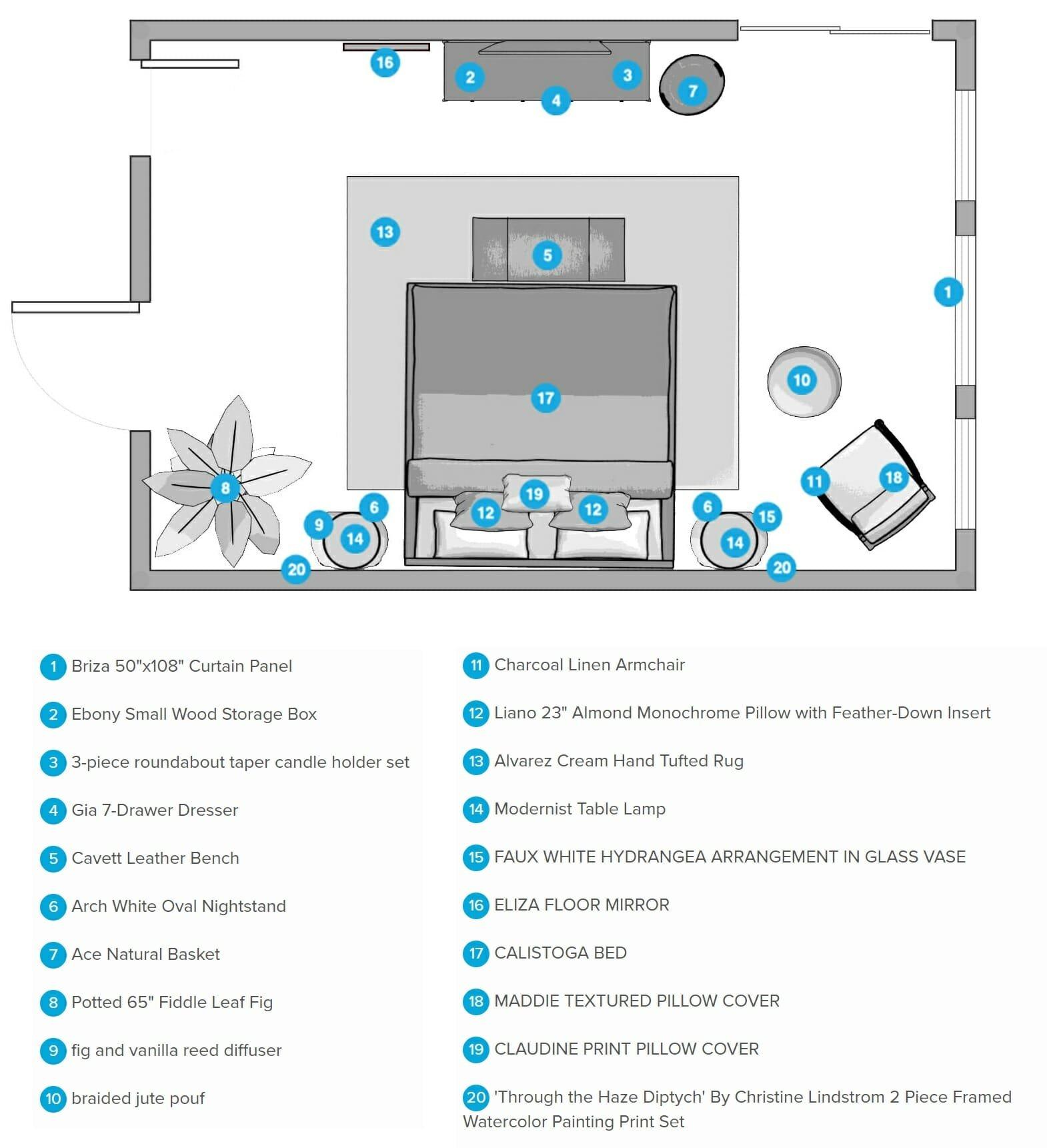 decorilla vs modsy comparison floor plan
