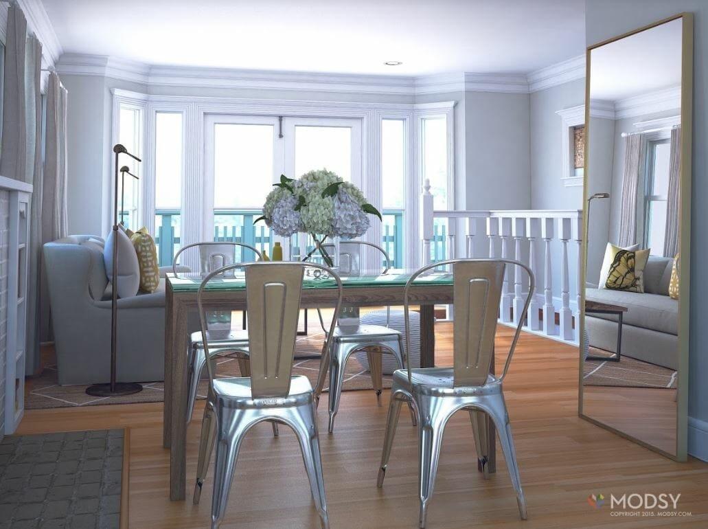 decorilla vs modsy dining room design