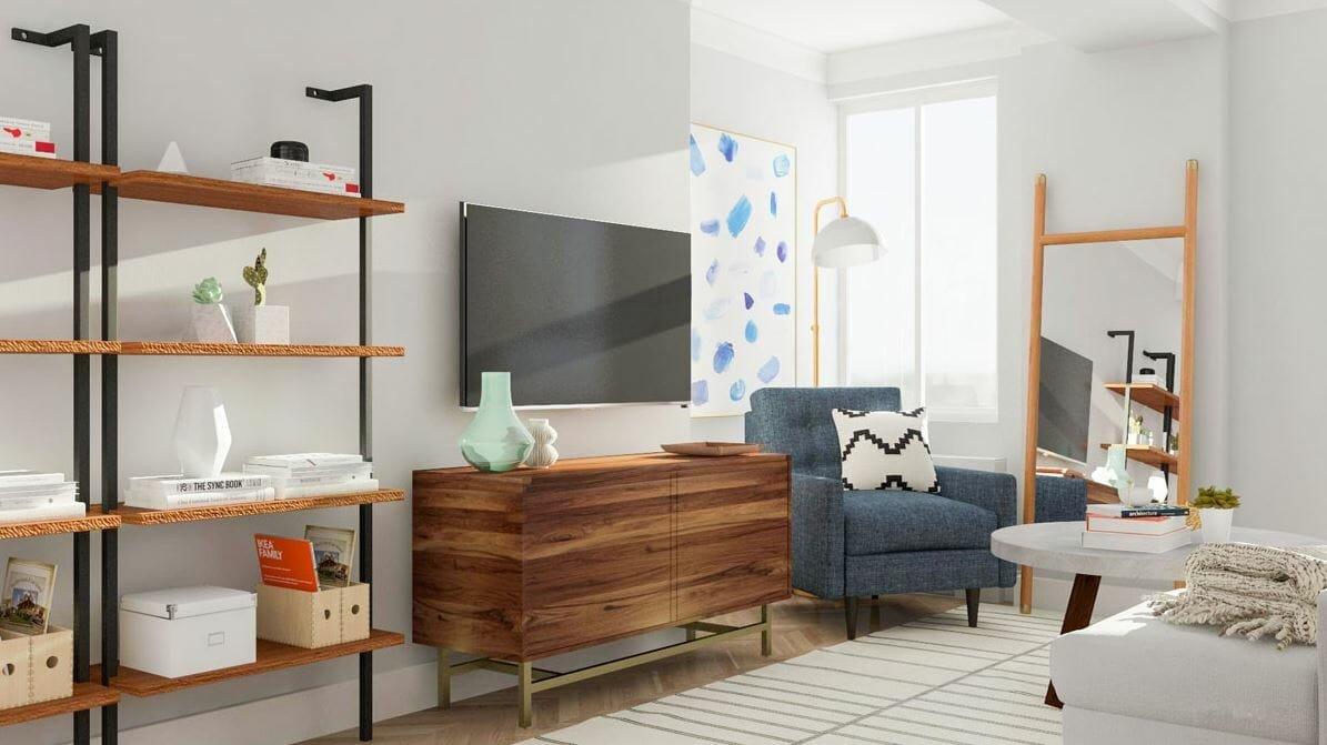 decorilla vs modsy - living room by modsy