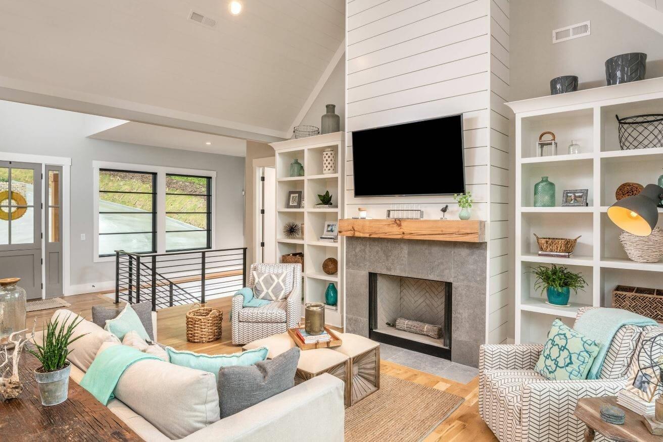 farmhouse interior design ideas living room decor